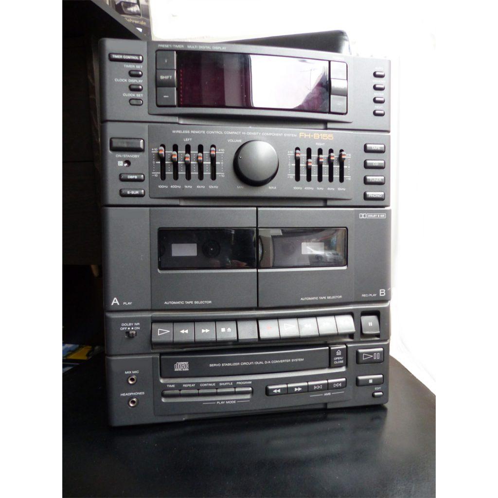 Reparatur einer HiFi Kompaktanlage Sony FH-B155