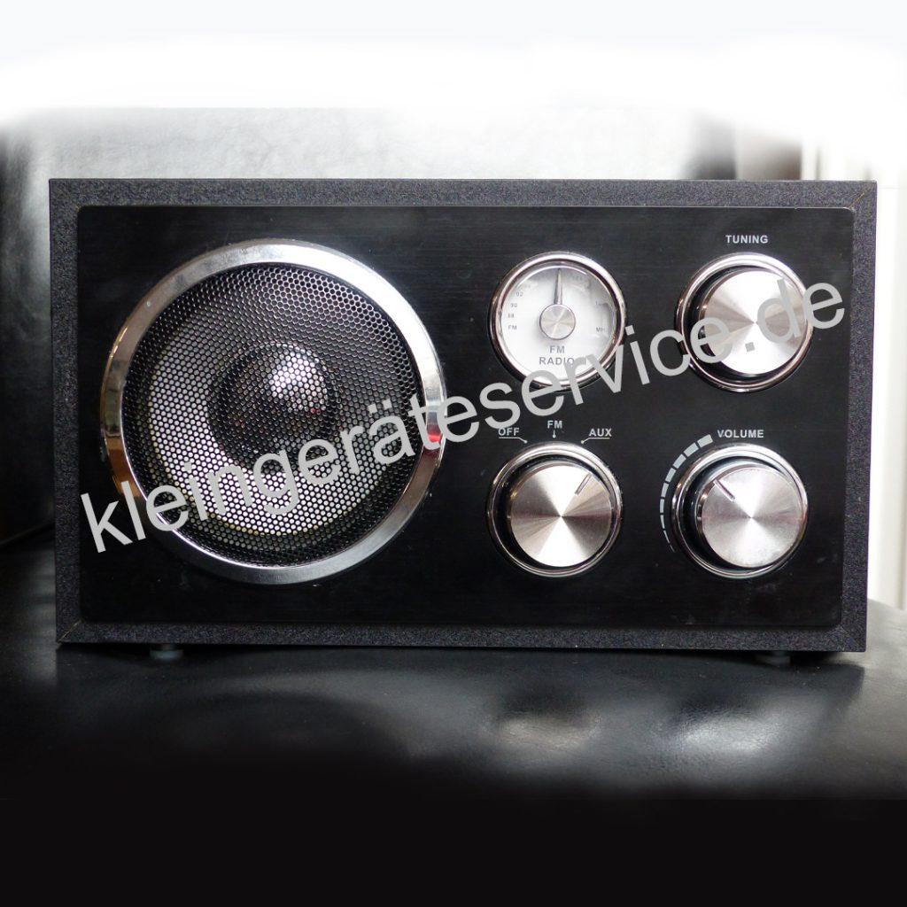 Reparatur eines Tchibo Radios