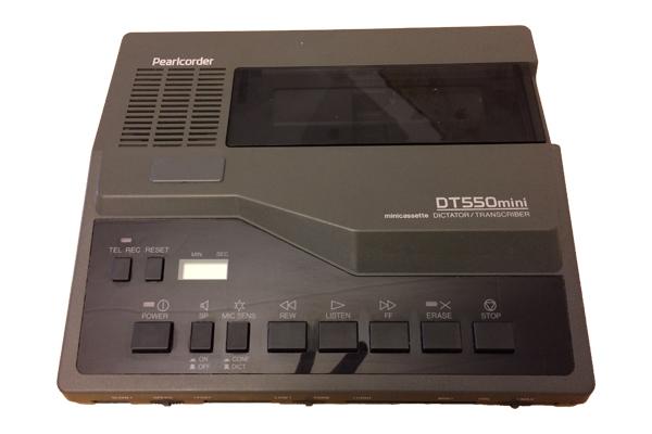 Reparatur Diktiergerät Olympus DT550 mini