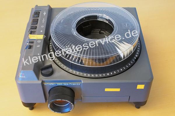 Reparatur eines DIA Projektors  KODAK Ektapro 5000