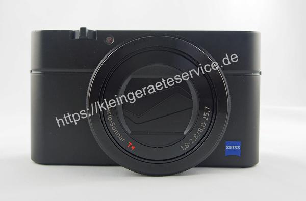 Reparatur einer Sony RX100 III