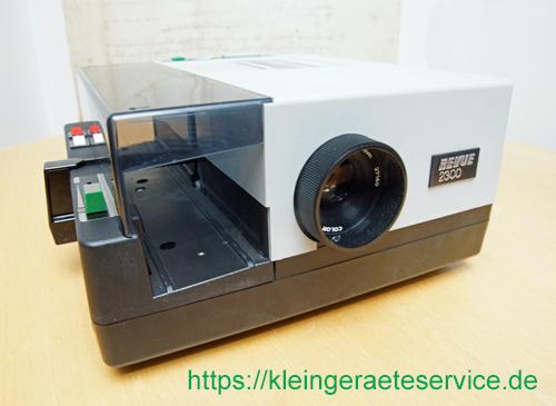 Reparatur eines DIA Projektors REVUE 2300